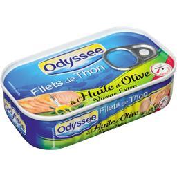 Filets de thon à l'Huile d'olive vierge extra