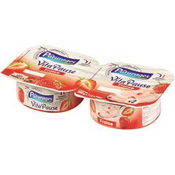 Vita Pause - Spécialité laitière fraise