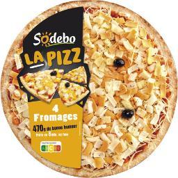 La Pizz mozzarella 4 fromages