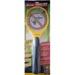 Raquette électrique anti-insectes