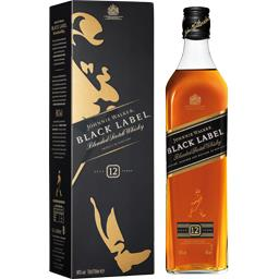 Black label blended scotch whisky