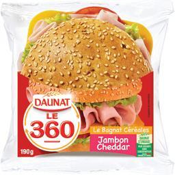 Sandwich Le 360 jambon cheddar