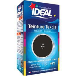Teinture textile noir 13 + le fixateur