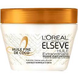 L'Oréal Elsève Masque Huile Extraordinaire huile fine de coco