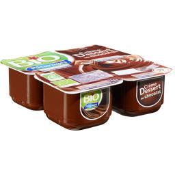 Crème dessert au chocolat bio
