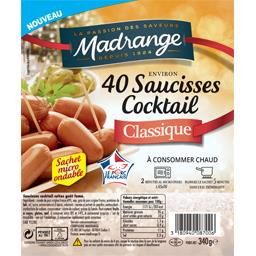 Madrange Saucisses cocktail classique