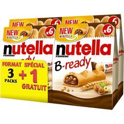 Nutella Biscuits B-ready la boite de 6 - 528g
