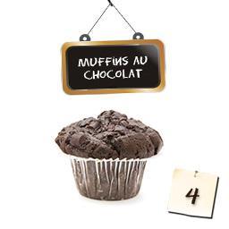 Muffins chocolat aux pépites de chocolat