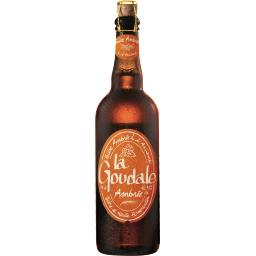 Bière ambrée à l'ancienne
