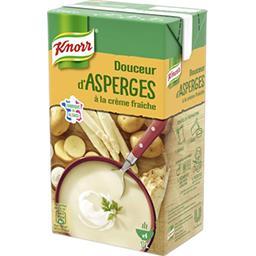 Douceur d'asperges à la crème fraîche