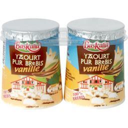 Yaourt pur brebis vanille du pays basque