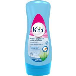 Crème dépilatoire sous la douche, peaux sensibles