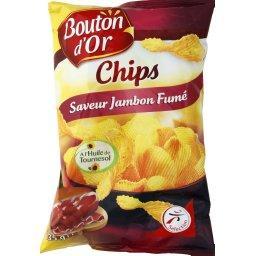 Chips saveur jambon fumé