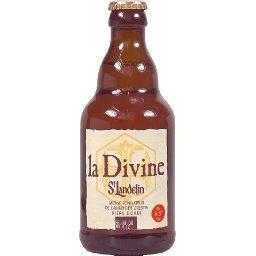 Bière blonde La Divine