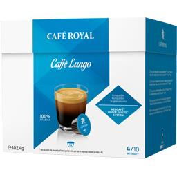 Capsules de café moulu Caffé Lungo