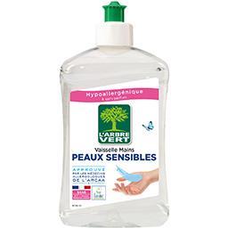 Liquide vaisselle & mains peaux sensibles