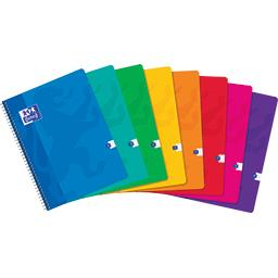 Cahier intégrale 240x320 90 g Seyes coloris assortis