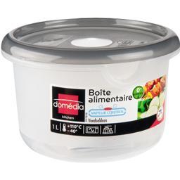Kitchen - Boite alimentaire ronde 1 L avec valve d'air