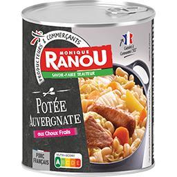 Potée Auvergnate cuisiné aux choux frais