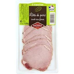 Rôti de porc cuit au four