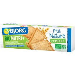 Biscuits P'tit Nature complet BIO