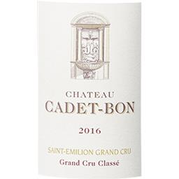 Saint-Emilion Grand Cru Château Cadet-Bon - Grand Cr...