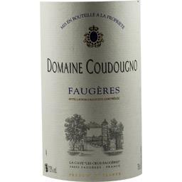 Faugères, vin rouge