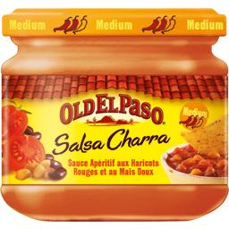 Sauce apéritif Salsa Charra medium haricots rouges maïs