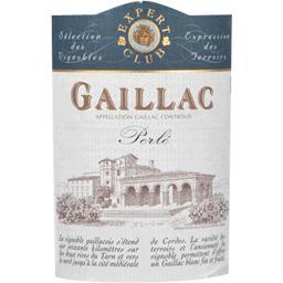 Gaillac perlé, vin blanc