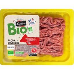 Viande hachée façon bouchère 15% MG BIO
