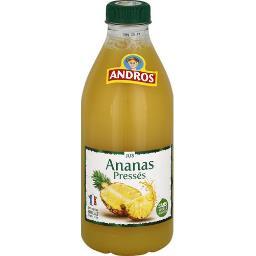 Boisson ananas pressés