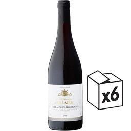 Chevallier d'Ollaire Coteaux Bourguignons Chevallier d'Ollaire vin Rouge ... le carton de 6*75 cl