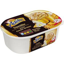 Crème glacée façon crème brulée