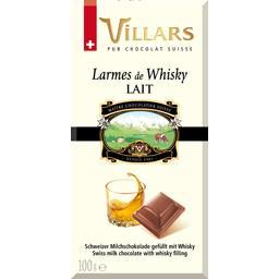 Chocolat au lait Larmes de Whisky