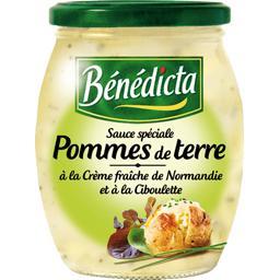 Sauce spéciale pommes de terre, crème et ciboulette