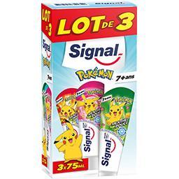 Signal Dentifrice Pokémon menthe douce 7 + ans le tubes de 50 ml