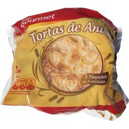 Gourmet Tortas anis Le sachet de 400 gr