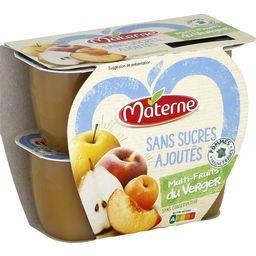 Sans Sucres Ajoutés - Spécialité multifruits du verg...