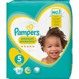 Pampers Premium protection - taille 5 11-16 kg - couches