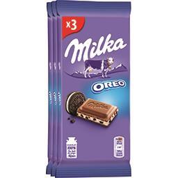 Milka Chocolat au lait fourré Oreo