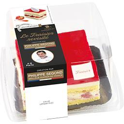 Les Créations La Fournée Campanière Le Fraisier le fraisier de 520 g