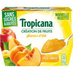 Dessert de fruits Saveur d'Eté sans sucres ajoutés