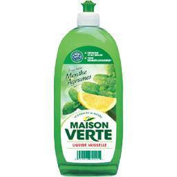 Liquide vaisselle fraîcheur menthe et agrumes