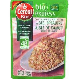 Blé, épeautre, Khorasan Kamut au naturel BIO