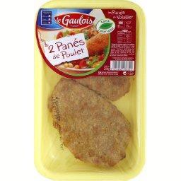 Panés de poulet