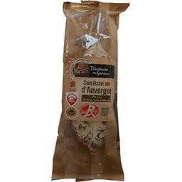 Saucisson sec d'Auvergne Label Rouge