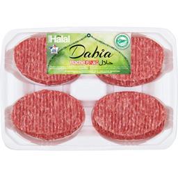 Steaks hachés 15% MG halal