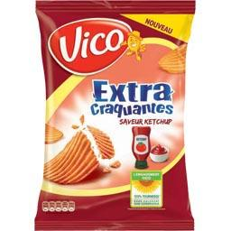 Extra Craquantes - Chips saveur Ketchup