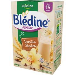 Blédine Junior - Céréales vanille pépites, dès 15 mo...
