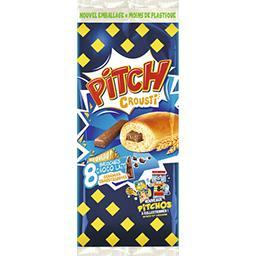 Pitch - Brioches choco lait céréales croustillantes